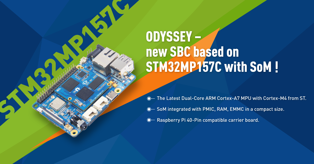 ODYSSEY-STM32P157C overview