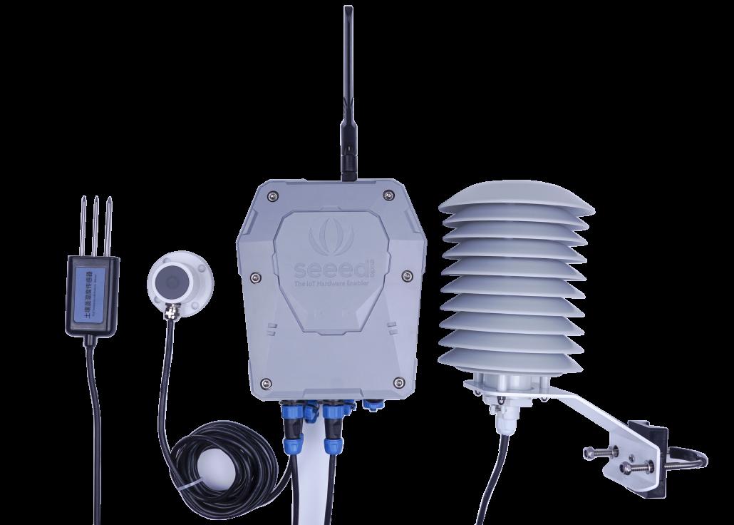 SenseCAP Sensor Hub with some collections of RS-485 Sensors