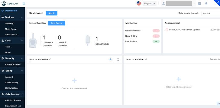 SenseCAP Portal