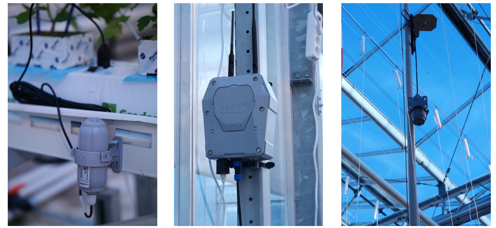 SenseCAP LoRaWAN Gateway & Sensors deployed in the Autonomous Greenhouse Challenge