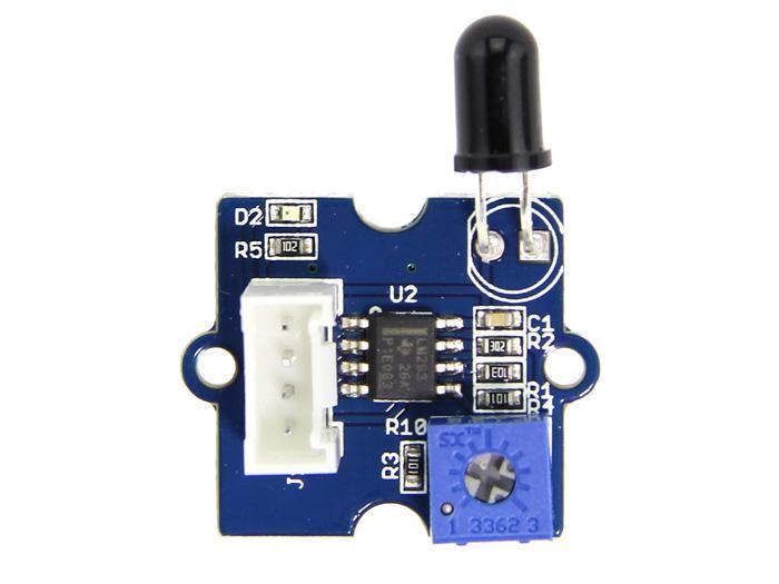 Module Sensor Flame Flames Fire yg1006/IR Flame Adjustable 760/nm 1100/nm Arduino