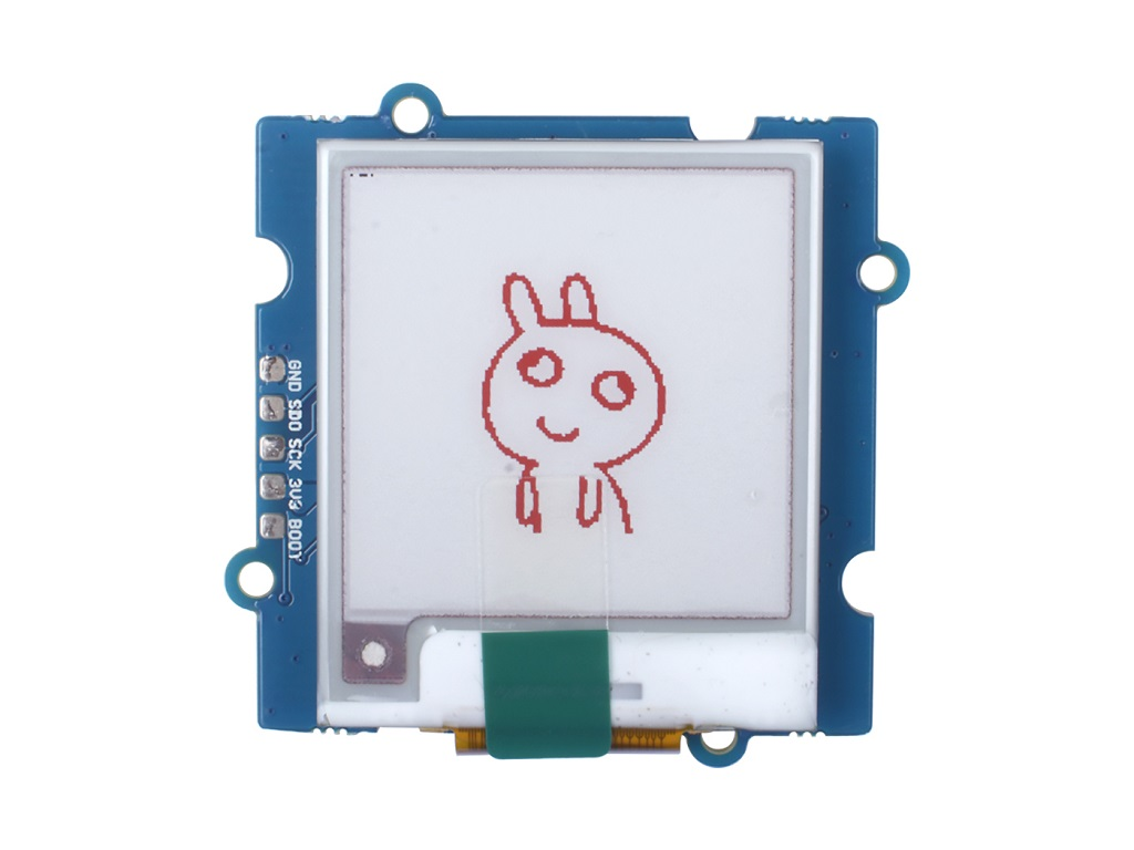 Grove - Triple Color E-Ink Display 1.54'' DIY